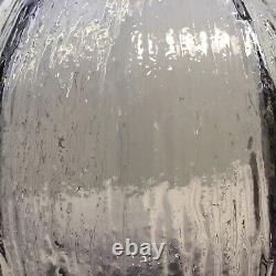 Glass Whitefriars Grand 11 Vase De Tulipe Texturé En Lilas (9826) 74 Verre D'art