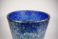 Grand Loetz Papillon Vase En Verre D'art Circa 1930