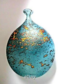 Grand Vase Peter Layton British Studio Art Glass, Lave