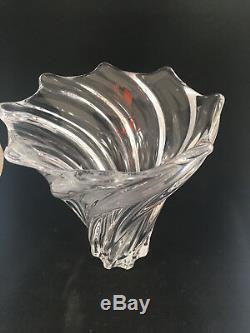 Haut Art Spiral Grand Cannelé Vannes France Le Chatel Vase Nancy Fleur