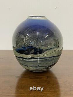 John Lewis Large & Heavy Moon Studio Art Glass 8 Vase
