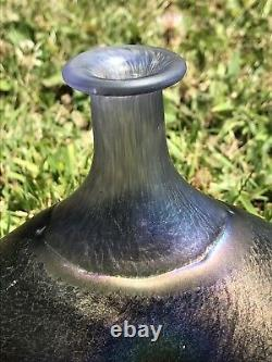 Kosta Boda Art Glass Vase Signé Bertil Vallien Numéro 48137 Collection Antikva