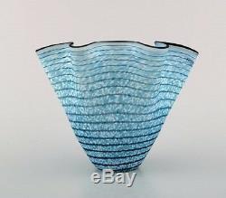 Kosta Boda, Vase En Verre D'art Ulrica H. Vallien. Design Suédois