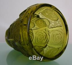 Legras Montjoye Saint Denis Antique Vase Art Déco 1930 Degage Verre Gravé Acide