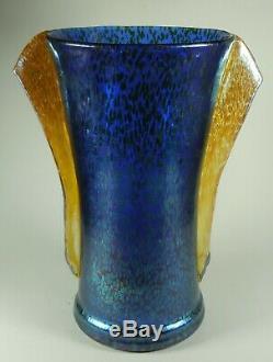 Loetz Art Déco Papillon Vase En Verre