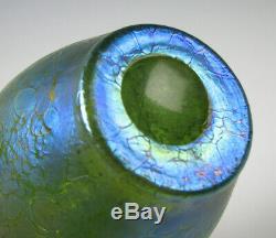 Loetz Austrian Art Glass Vase À Huile De Taille Armoire