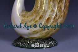 Loetz Autriche Art Glass Vase Cygne Circa 1892