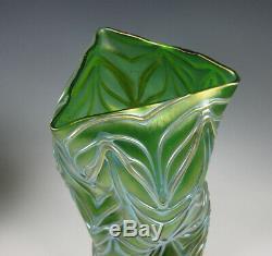 Loetz Formosa Autrichienne Art Glass Vase 10