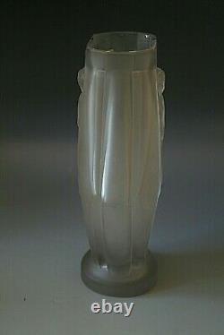 Lozenge En Forme De Vase En Verre Art Déco Design Par Lucille Sevin