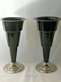 Paire De Vases Art Déco Taille Extra Large