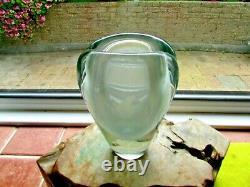 Petit Vase En Verre De Kaj Franck Pour Nuutajarvi Notsjo Daté De 1968