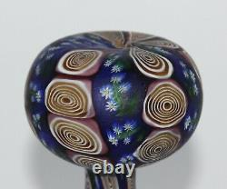 Rare Art Nouveau Fratelli Toso Millefiori Murano Vase Murrine Fleur De Verre 5,9