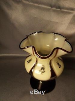 Rarissime Hans Bolek Loetz Cameo Art Déco Nouveau Tango Vase Pedestal