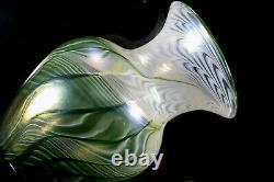 Signé Lundberg Studios Art Glass Vase Excellent