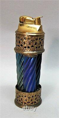 Très Unique Steuben Art Nouveau Verre Léger C. 1920 Antique Vase Américain