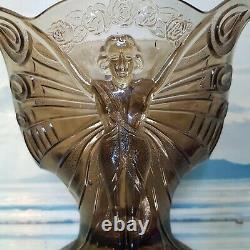 Vase Art Déco Antique Des Années 1930 Henri Heemskerk Scailmont Belgique 22 CM Exquisite