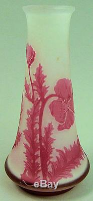 Vase Art Nouveau En Art Cameo, France, France, De Vez'poppy Design ', Vers 1910
