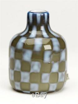 Vase Art Nouveau En Murano Pezzato, Italie, 20ème