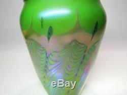 Vase Art Vintage En Verre