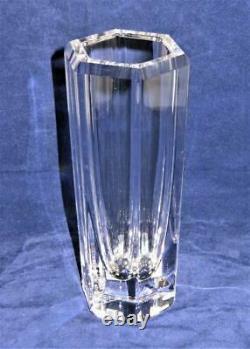 Vase En Verre D'art Kosta Boda Signé Par Eden Falk 44268, 7 1/4 Tall
