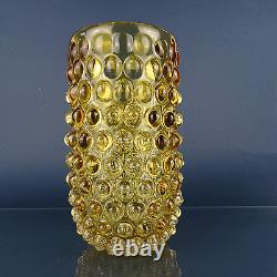 Vase En Verre D'art 'lenti' Par Ercole Barovier & Toso Murano, Italie Vers 1940
