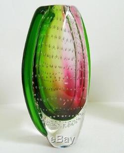 Vase En Verre En Verre De Murano Art Cristalleria Stile D'arte 9 Home Decor