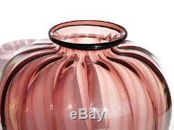 Venini Soffiati Vase En Verre De Murano Zecchin Cappellin MVM Art Deco 20's 30's