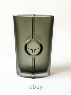 Vintage Glas Vase Tapio Wirkkala Iittala Modèle 3307 Art Glass Signiert 60er