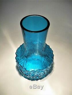 Whitefriars Art Glass Vase Par Geoffrey Baxter