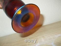 Wmf Myra Glasvase Art Déco Bauhaus Vase En Verre Höhe 25 CM Irisierend