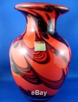 Wow Très Rare Vintage Dolphin Glass Japon Verre Art Verre Cristal Épais Et Épais